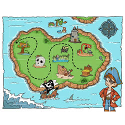 Treasure Map Jigsaw